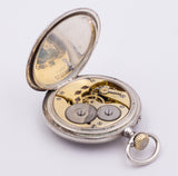 IWC International Watch Company pocket watch in silver, late 800th century. - Antichità Galliera