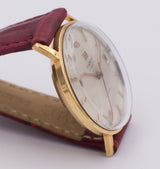 Tissot Visodate automatic wristwatch in 18k gold, 60s - Antichità Galliera