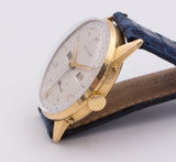 Movado vintage watch with full calendar, 18k gold. 1950