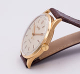 Vintage Eberhard automatic wristwatch in 18k gold, 1960