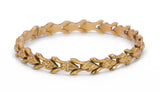 Vintage boxed 18k gold bracelet from the 40s