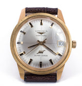 Vintage Longines Ultrachron automatic wristwatch in 18k gold, 70s
