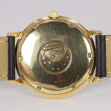 Vintage Omega Constellation watch in 18k gold automatic with date, 60s