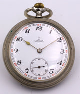 Omega metal pocket watch, early 900s - Antichità Galliera