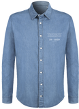 'Prodigal' Organic Light Denim Shirt - Supermodernism