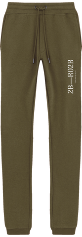 'Arrows' Organic Cotton Khaki Sweatpants
