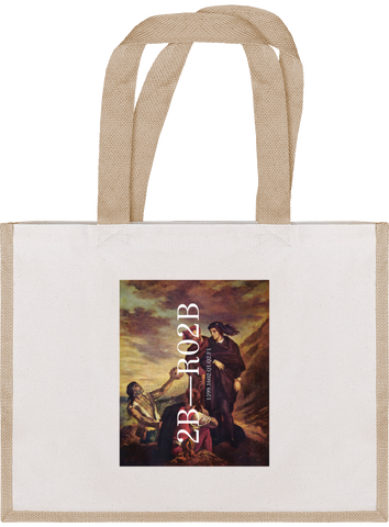 '2B' Cotton Tote Bag