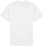 'Guard' Organic Cotton White T-shirt - Supermodernism