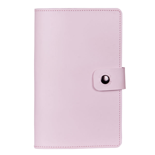 The Burghley Refillable Leather Journal - Pastel Range