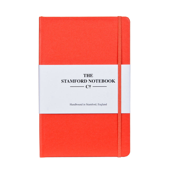 The Vibrant Buckram Notebook