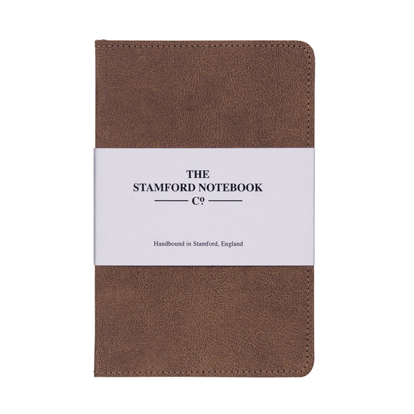 Stitched Vintage Recycled Leather Notebook