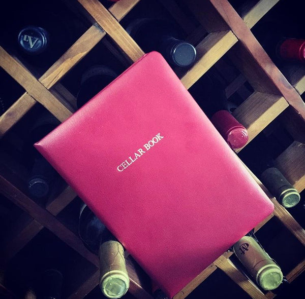 Leather Wine Cellar Book