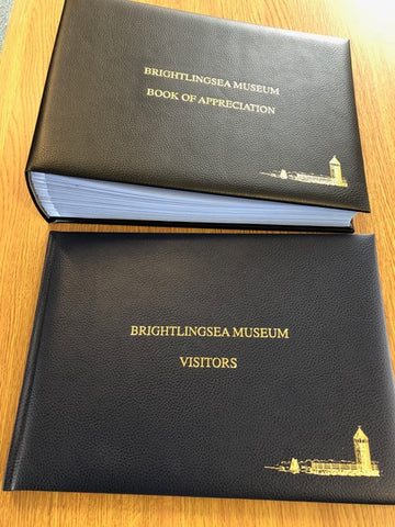 Personalised Leather Visitor Books