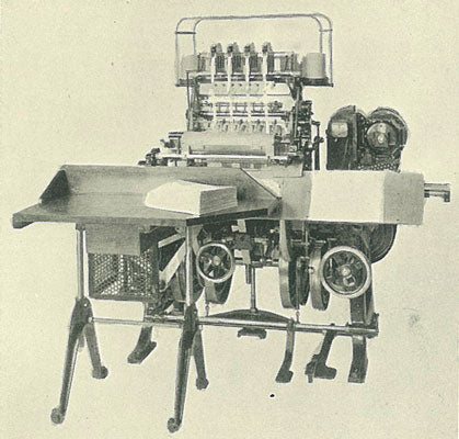 Smyth Book Sewing Machine