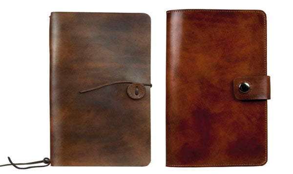refillable leather journals from the stamford notebook company