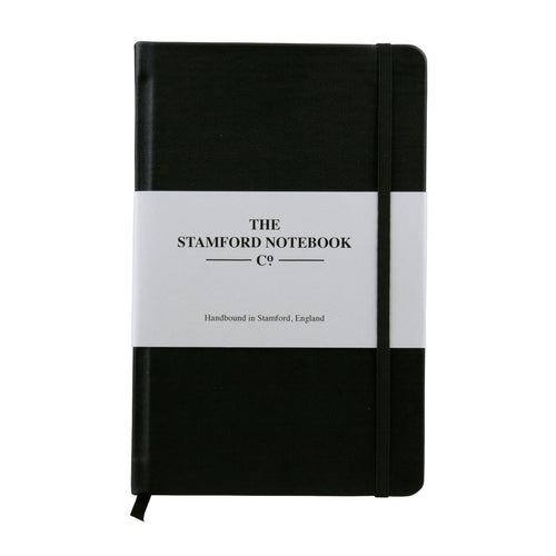 The Leather Notebook - Black