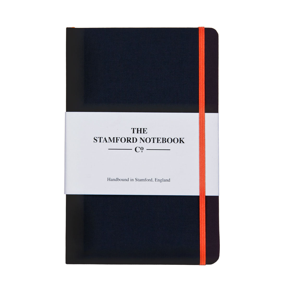 Black Woven Cloth Notebook