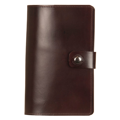 Dark Brown Leather Burghley Organiser
