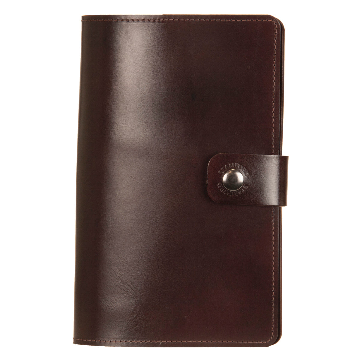 Dark Brown Burghley Leather Refillable Journal