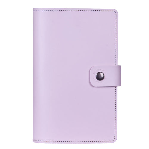 lilac Burghley refillable leather journal