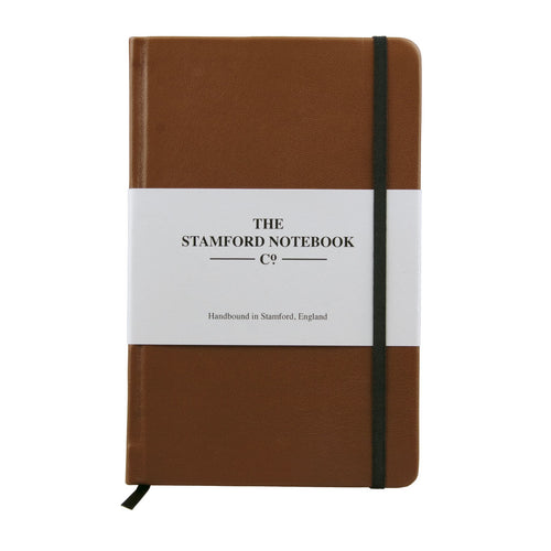 The Leather Notebook - Cognac
