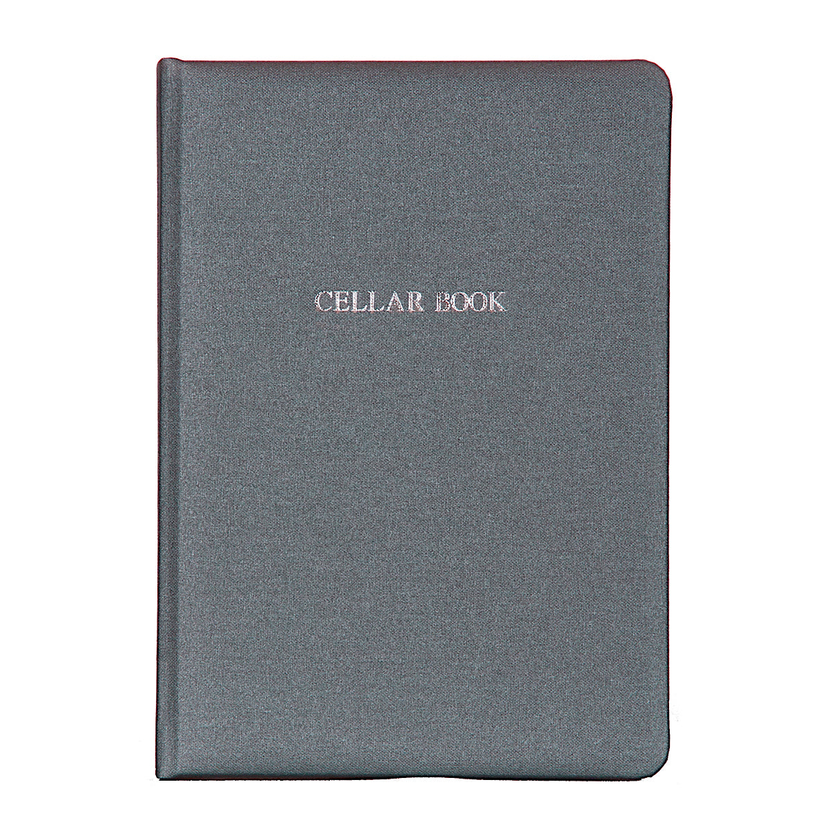 Steel Grey Buckram Cellar Book