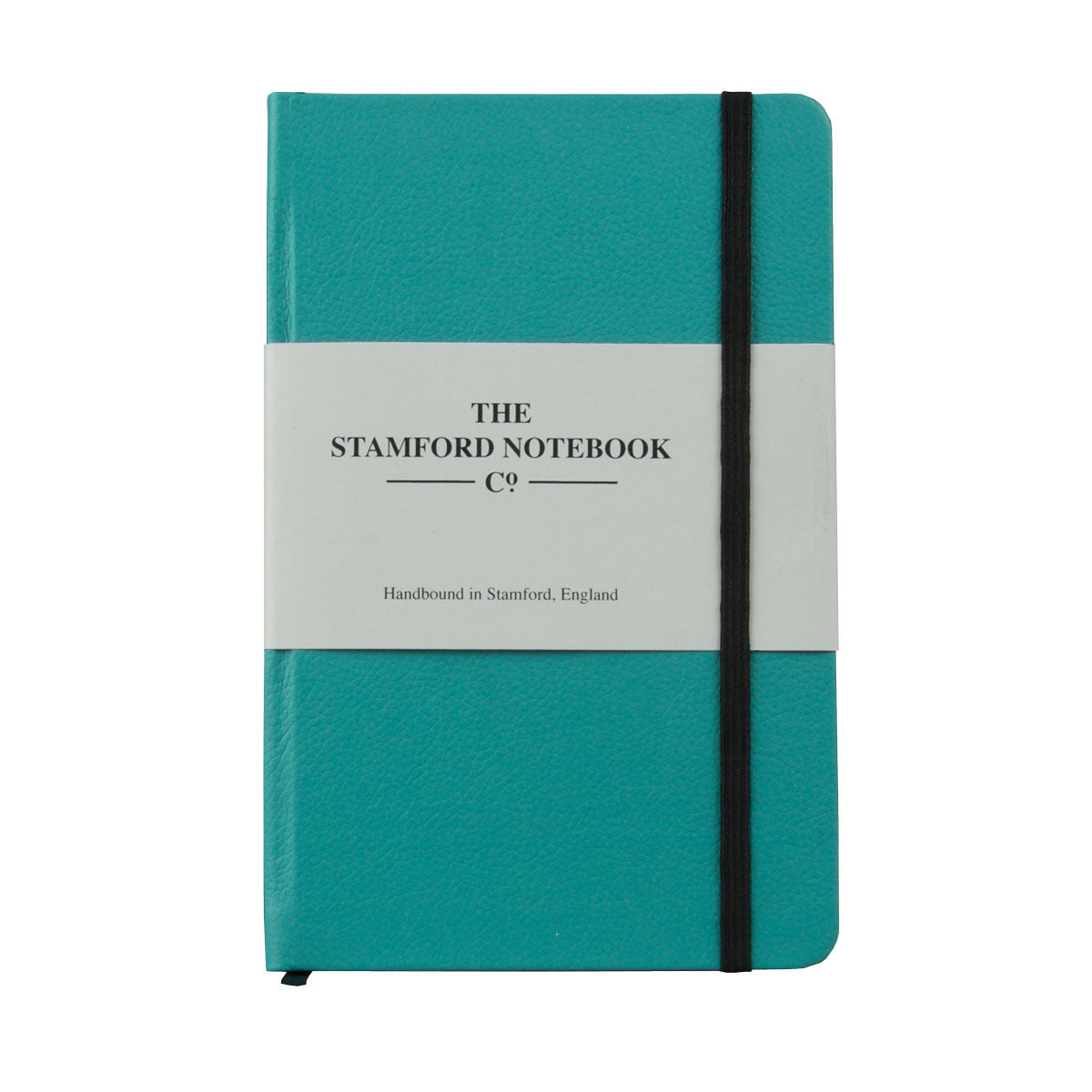 Dark Teal Luxury Leather handbound notebook