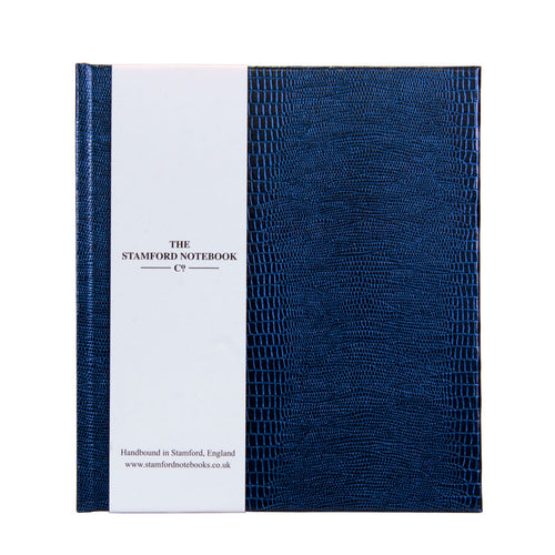 Deep Marine Iguana embossed handbound notebook