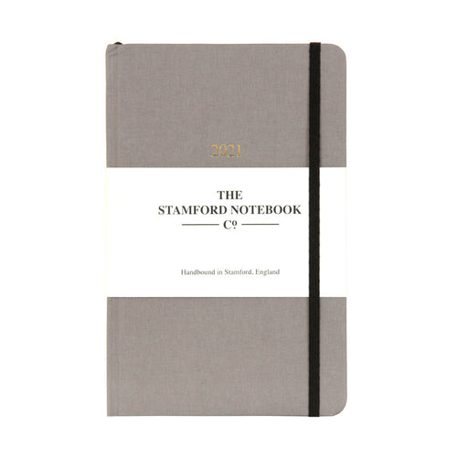 The Limited Edition Woven Cloth Diary - Taupe