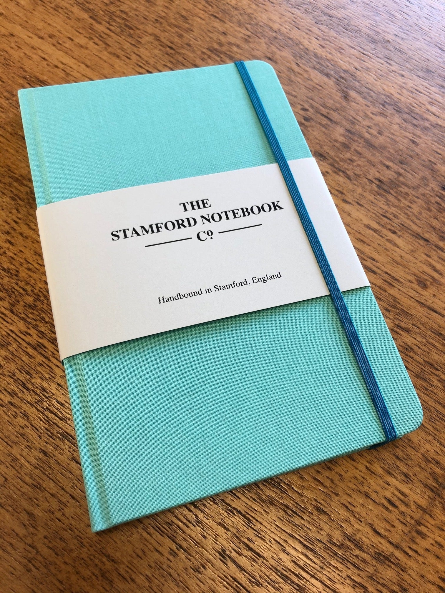 Image of Limited Edition Woven Cloth Notebook in Aqua