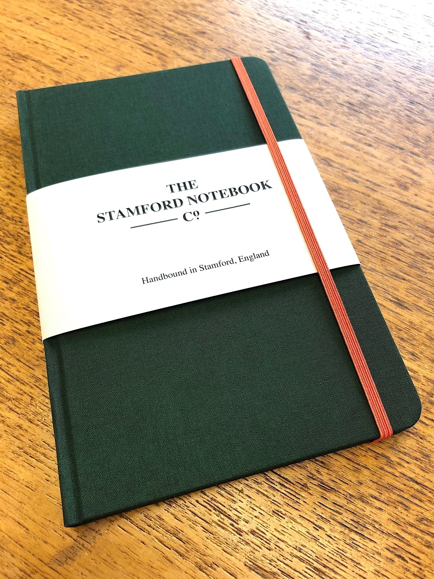 Image of Limited Edition Woven Cloth Notebook in Racing Green