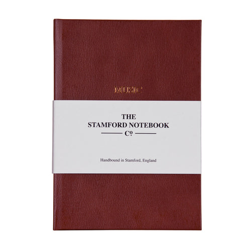 Leather Music Manuscript Notebook