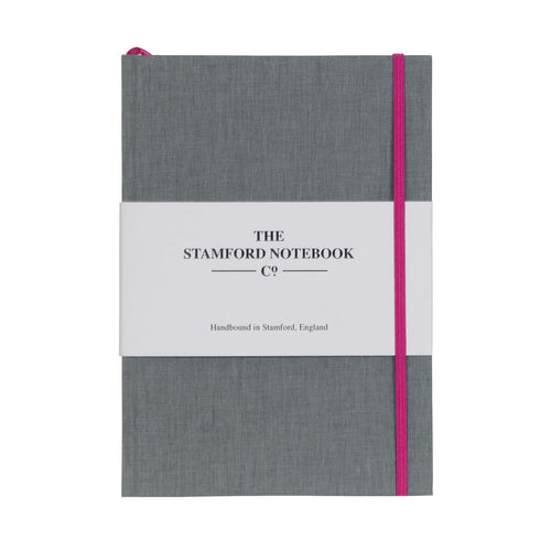 Limited Edition Grey A5 Cotton Notebook