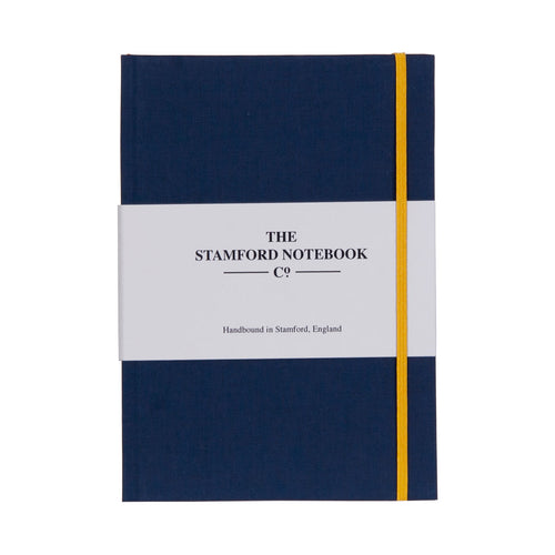 Limited Edition Cotton A5 Notebook Navy