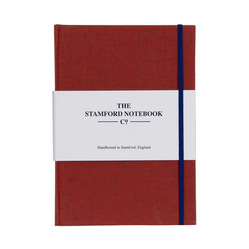 Limited Edition College Red Cotton notebook A5