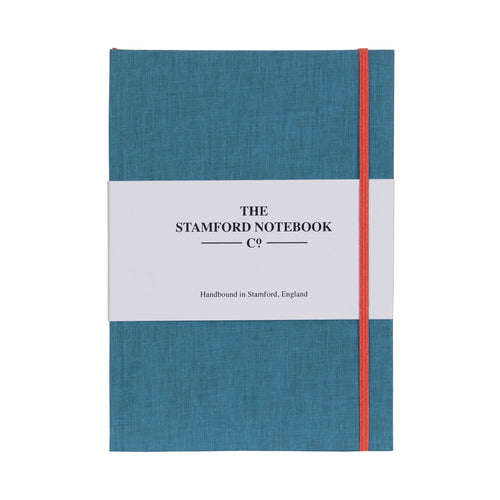 Limited Edition Cotton A5 Personalised Notebook Sky Blue