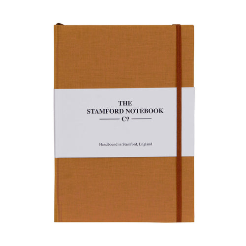 The Limited Edition Cotton Cloth Notebook A5 Rust