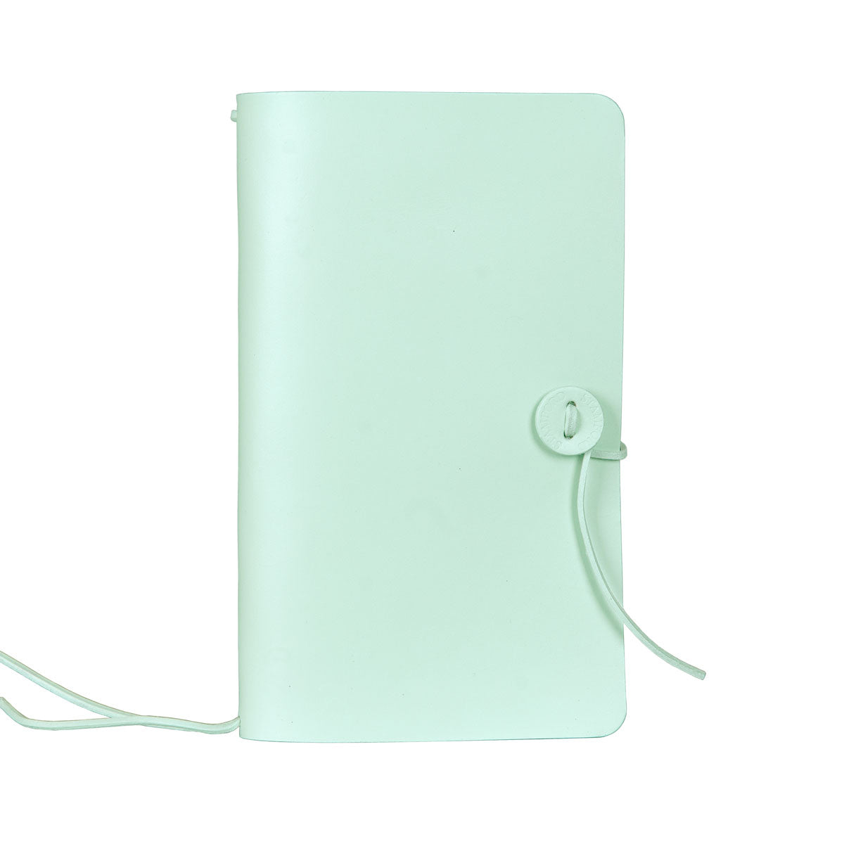 Mint refillable leather travellers journal
