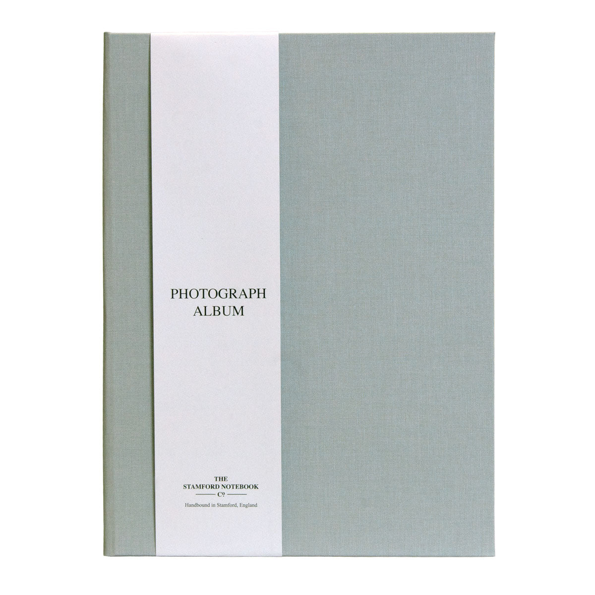 Woven Cloth Photograph Album - Light Grey