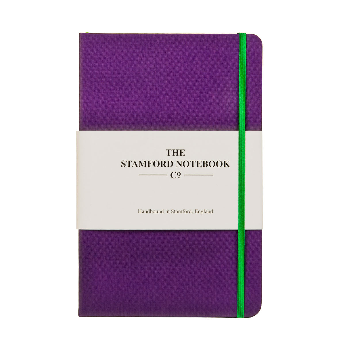 Purple Woven Cloth Notebook
