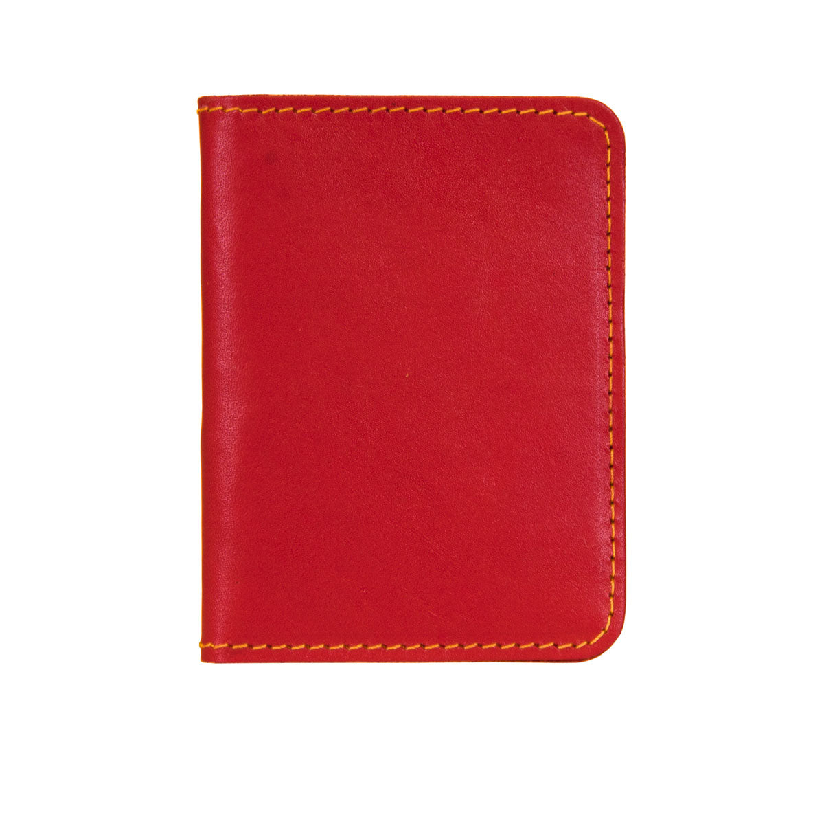 Handmade Leather Wallet - Red
