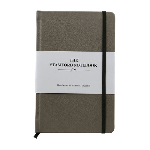 The Leather Notebook - Silver Birch