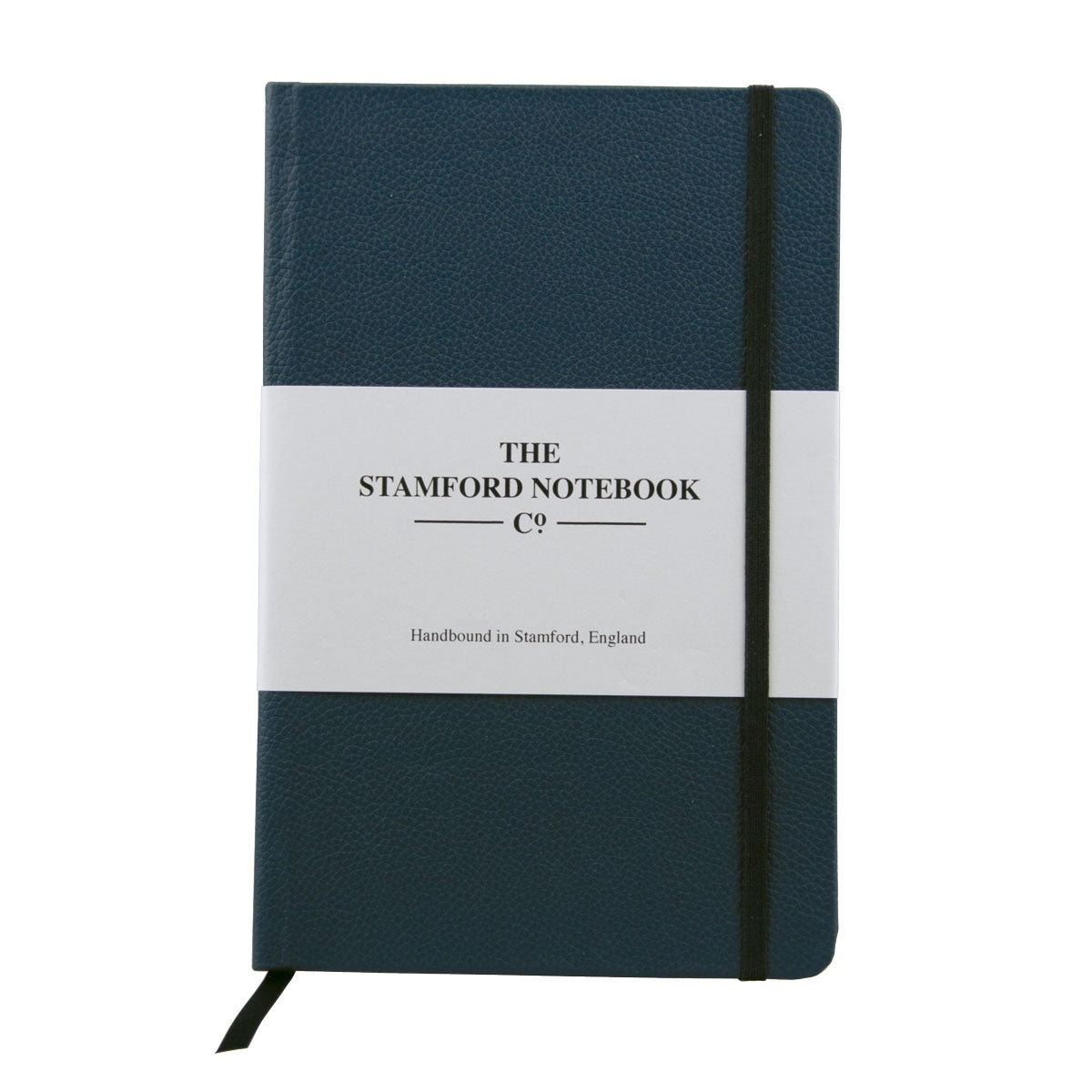 Suffolk blue luxury leather handbound notebook
