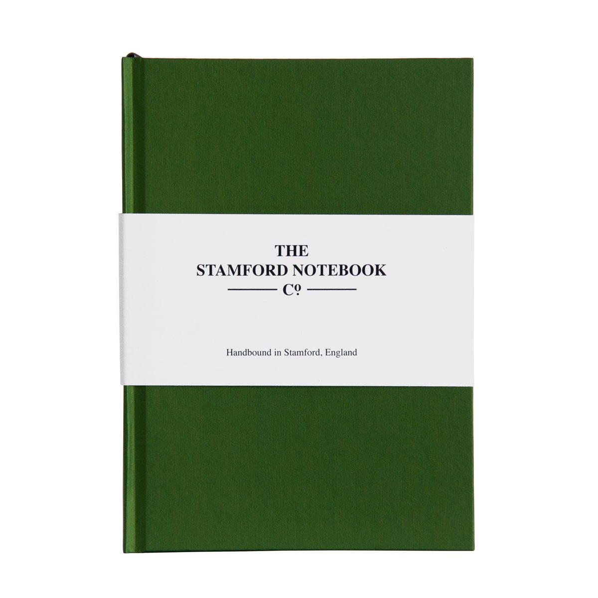 the shimmer notebook peridot green