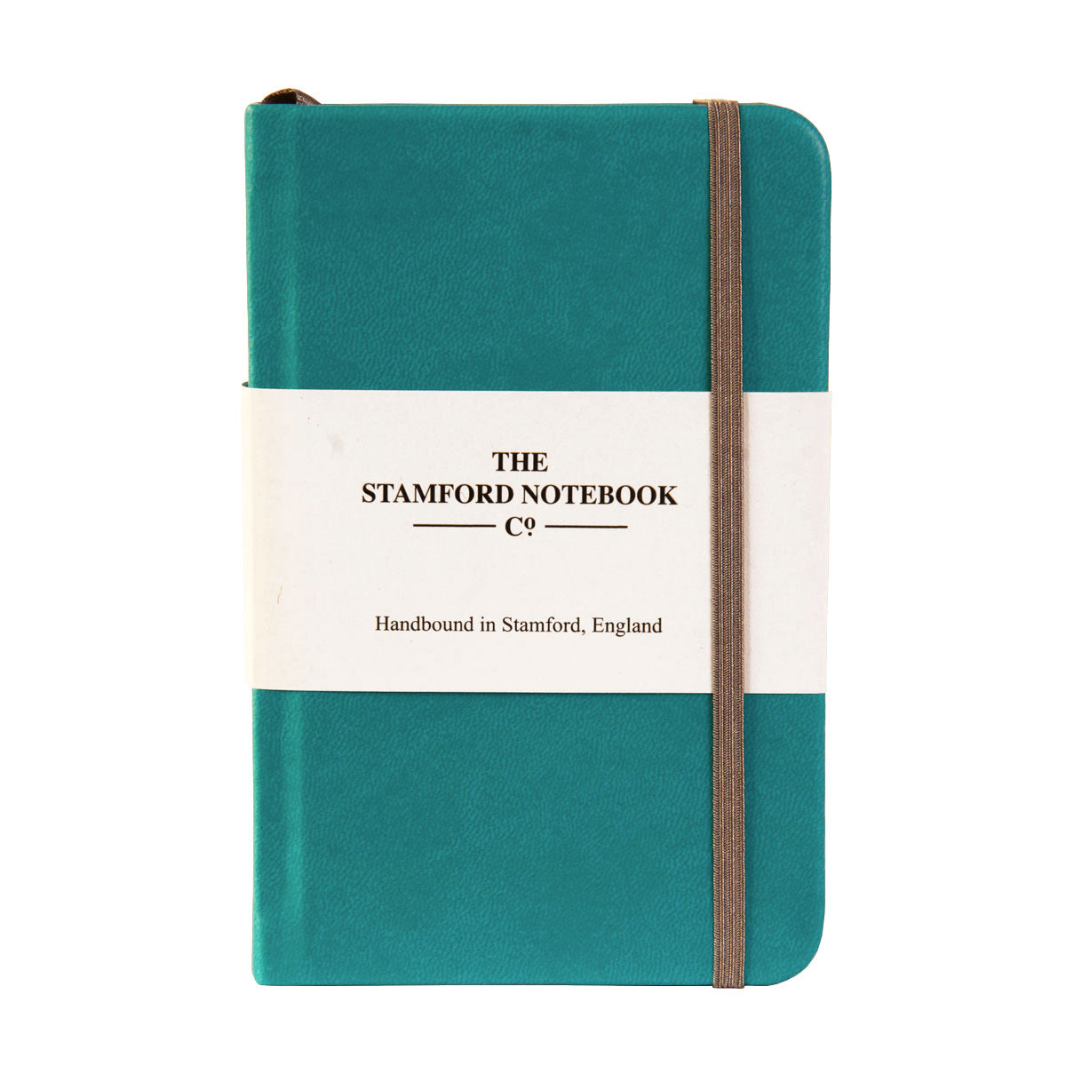 the soft touch notebook turquoise