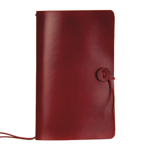 The Travellers Journal Classic Range - Burgundy