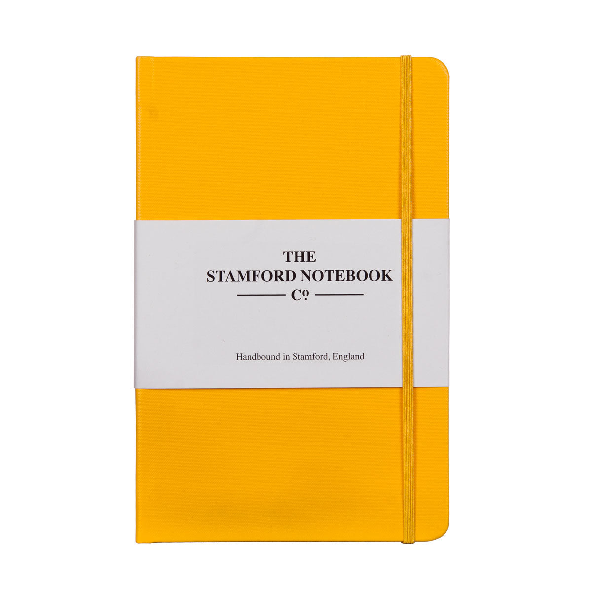 Yellow Buckram Handbound Notebook