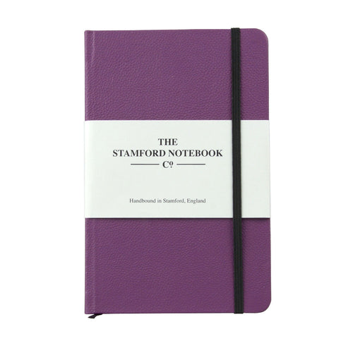 The Leather Notebook - Wineberry