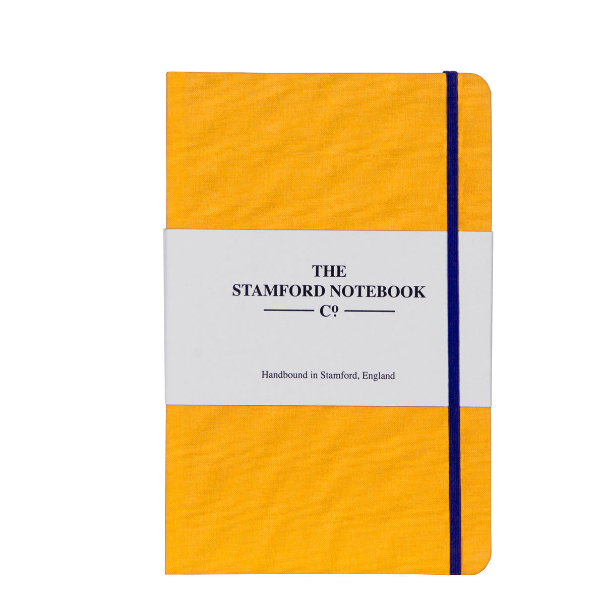 The Woven Cloth Notebook Sunshine Yellow