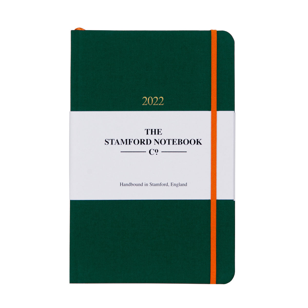 2022 racing green woven cloth diary